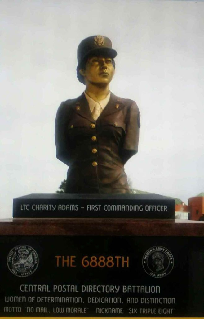 Charity Adams First Black Female Commissioned Officer in the Army